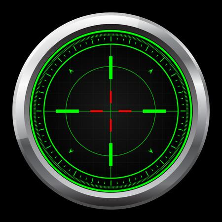 Zakres Sniper zielony i czerwony celownika