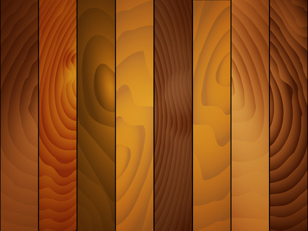 Wood board texture background, vector