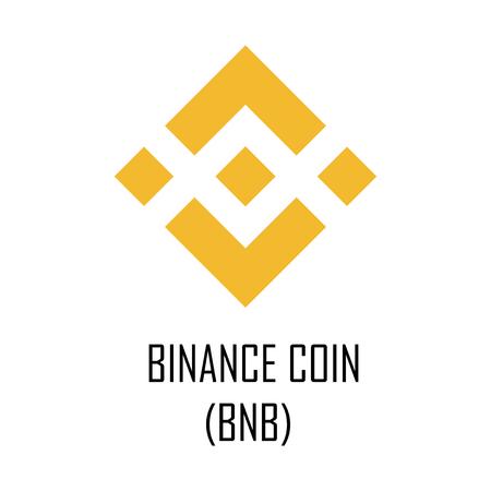 Binance coin (BNB) cryptocurrency logo and symbol Reklamní fotografie - 102933868