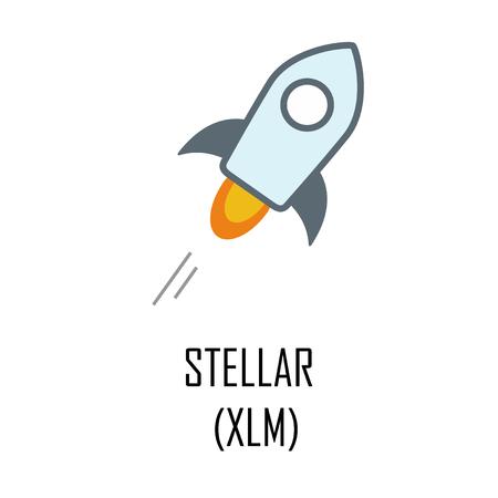 Stellar (XLM) cryptocurrency logo and symbol