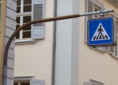 paso de peatones: Signo de parte