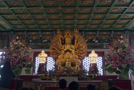 quan yin: Quan Yin in temple at Thailand