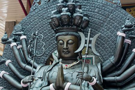 quan yin: Quan Yin in temple