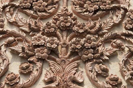 ka: Thailand Arts Stucco Wat Kong Ka Bang Bual Tong at Nonthaburi Thailand