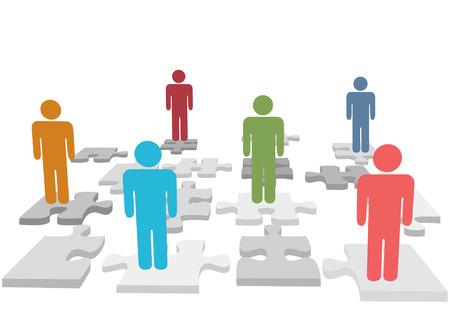 ressources humaines: Questions de ressources humaines et autres questions de personnes et trouver des solutions sur les pi�ces de puzzle.