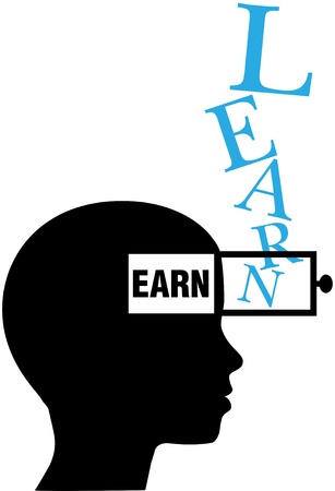 adds: Person learns to earn as knowledge adds earning power
