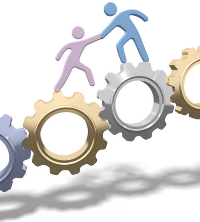 helps: Technology consultant or recruiter helps person improve or join tech company