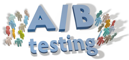 testing: A B Testing website choices to test variations by experiment