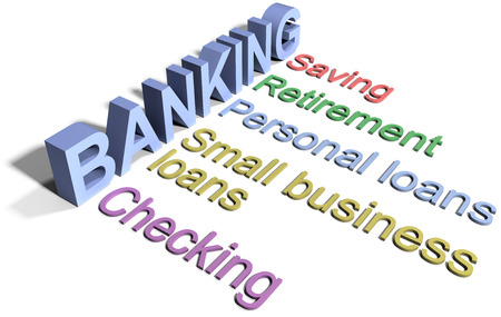 checking accounts: Banking business financial services list checking saving loans