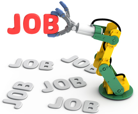 seeking solution: Robotic arm to find and choose best Technology job search solution