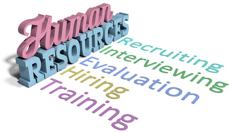 List of Human Resources words for hiring evaluation people management