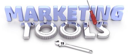 Glanzend effectieve krachtige nieuwe marketing tools voor zakelijke afdeling