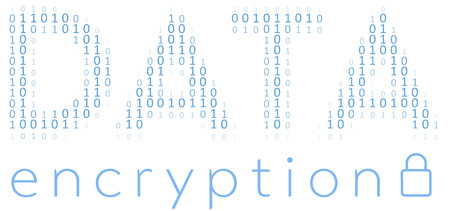 secret code: Binary Digital Data Encryption encoding for communication security