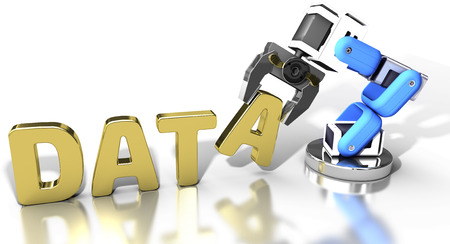 storage: Robotic arm automatic data storage and data center database technology