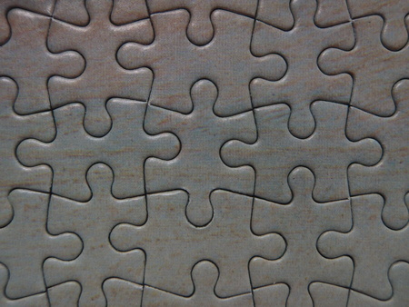 Background texture or pattern of a completed puzzle Banco de Imagens
