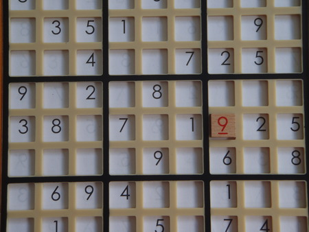 Sudoku board Stock fotó