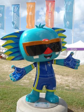 Borobi the mascot for the 2018 Commonwealth games Gold Coast Redakční
