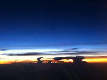 sg: Skies at bangkok Stock Photo