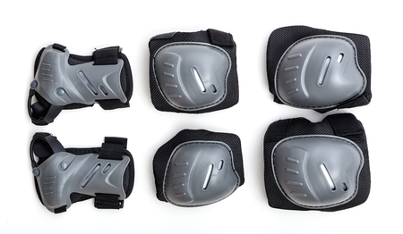protectors: Set of joint protectors for speed sports like inline skating.