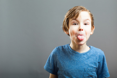 sticking out tongue: Series of a Little Boy, Expressions - Sticking out Tongue