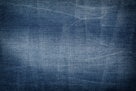 Textile - Fabric Series: Blue Jeans, Close-ups of Details of a pair of jeans trousers Fabric Background