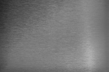 stainless steel sheet: Black and white converted texture of stainless steel, blank metal sheet, background closeup.