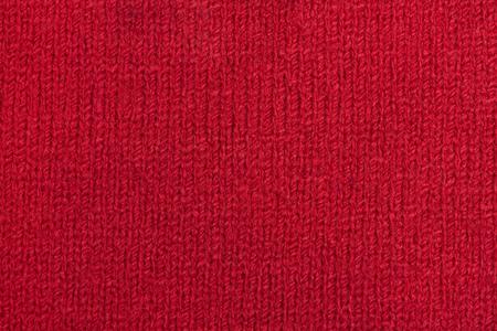 Roter Stoff, Textur Hintergrund, Baumwolle als Nahaufnahme