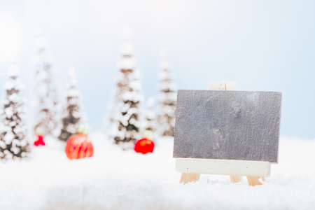 Christmas decoration greeting card banner image Stock Photo