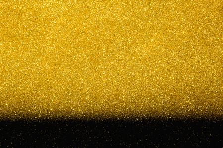 Gold glitter sparkling design background for high value or luxury design images