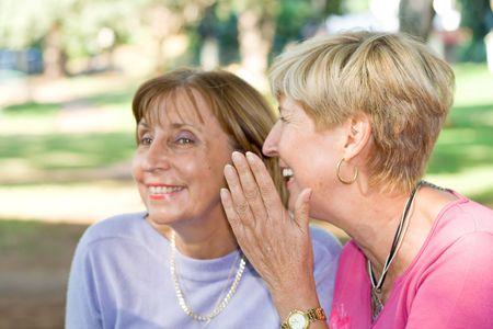 jokes: senior women gossip