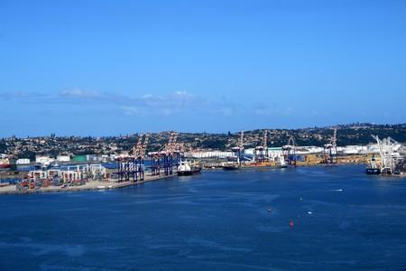 harbor city - Durban, south africa photo