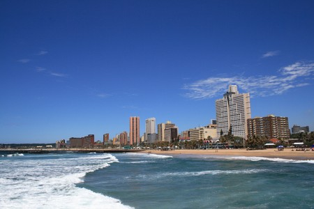 durban: coastline city