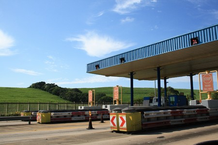 Toll plaza photo