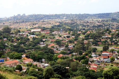 poor suburb of south africa Stock Photo - 3989570