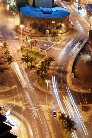 city night street photo
