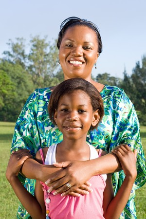 young african mother and her daughter Stock Photo - 4255793