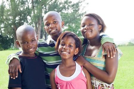 ni�os africanos: los ni�os africanos