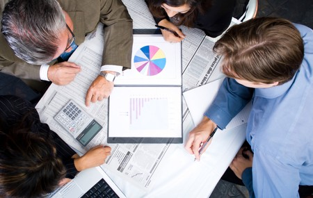 group business people meeting  Stock Photo