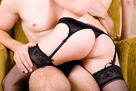 sexual couple Stock Photo - 4419247
