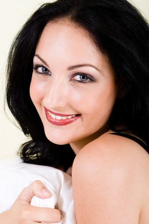 cute smiling woman photo