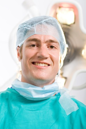 male doctor in operation room Stock Photo - 4411532