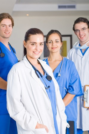 medical doctors and nurses photo