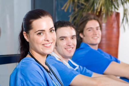 group of young doctors and nurses relaxing Stock Photo - 4411634