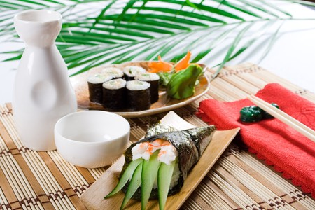 japanese sushi food Stock Photo - 4592232