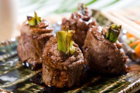 beef steak roll photo