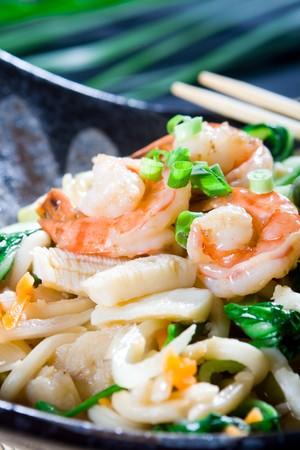 seafood noodle photo