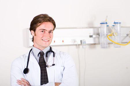 handsome doctor Stock Photo - 5122366
