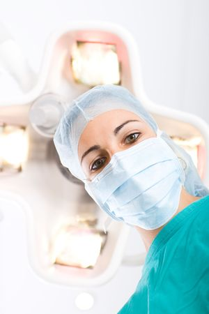 nurse cap: chirurgo Archivio Fotografico