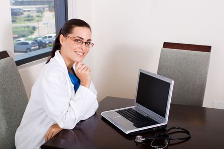 knowledgeable: beautiful doctor