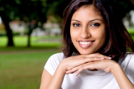 lovely indian woman Stock Photo - 5108547